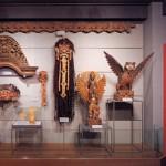 世界の生活文化 バリコーナー展示風景