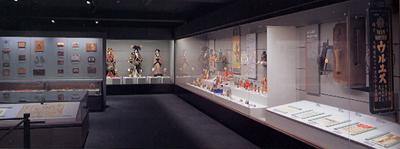 世界の生活文化 日本コーナー展示風景