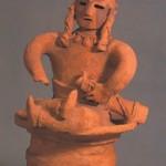 群馬県高崎市八幡原町出土人物埴輪(重要文化財)