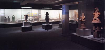 世界の考古美術 日本コーナー展示風景