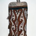 戦闘用楯 インドネシア・パプア州北西アスマット地方 アスマット族