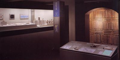 世界の考古美術 朝鮮半島コーナー展示風景