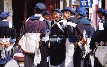 納西(ナシ)族の女性