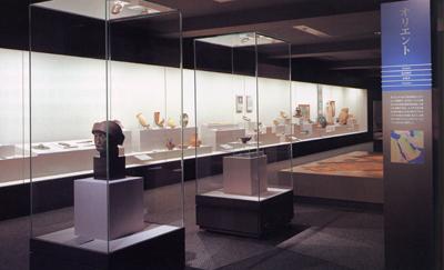 世界の考古美術 オリエントコーナー展示風景