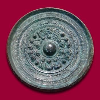 三角縁神獣鏡 奈良県 富雄丸山古墳出土 径21.7cm