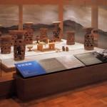 世界の考古美術 布留遺跡コーナー展示風景