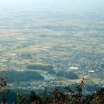 龍王山より見た柳本古墳群