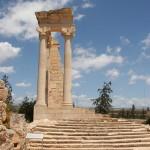 キプロス・クリオン遺跡のアポロ神殿 ローマ時代