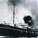 最初のブラジル移民船「笠戸丸」