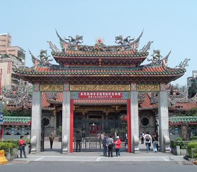 台北市・龍山寺