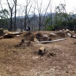 桜井茶臼山古墳 墳頂部の調査