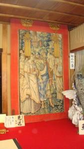 祇園祭鯉山のタペストリー