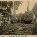 岩槻浄安寺前武州鉄道線