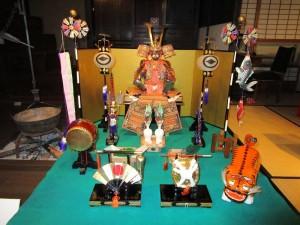 スポット展示「五月人形」より 甲冑飾り 京都 昭和40年代