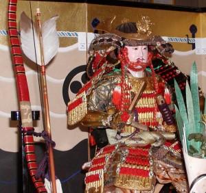 スポット展示「五月人形」より 武者人形飾り 京都 大正14年