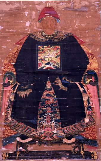 潘士興画像(18世紀後半)