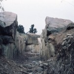 塚穴山古墳の石室
