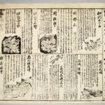伊賀上野地震かわら版 木版墨刷 1854(嘉永7・安政元)年6月 縦35cm