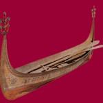 """漁舟""""タタラ"""" 全長396cm 最大幅76cm"""