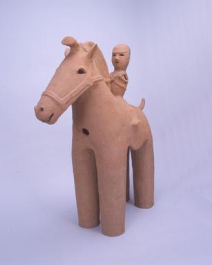 騎馬人物埴輪 高さ91.5cm