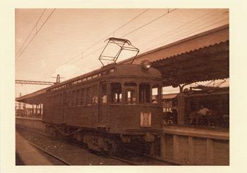 デボ150形151号電車(大阪電気軌道 橿原神宮前駅 昭和15年)