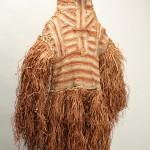 """儀礼用精霊仮面""""ジパエ"""" インドネシア、パプア州アスマット地方 高さ159.2cm"""