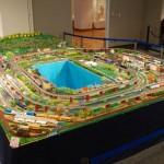 展示風景 鉄道模型ジオラマ