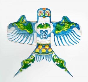 凧(燕) 中国山東省 最大幅86cm