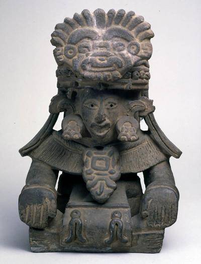 副葬用神像形香炉 メキシコ、オアハカ 推/4~7世紀 高36.8cm