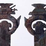 東大寺山古墳出土の家形環頭