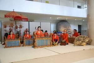 ガムランの演奏風景