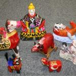さまざまな郷土玩具