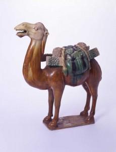 三彩釉駱駝