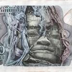 1,000リエル札